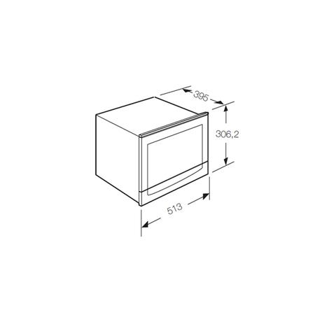 Dessin technique Micro-ondes - AMF253IX - Airlux
