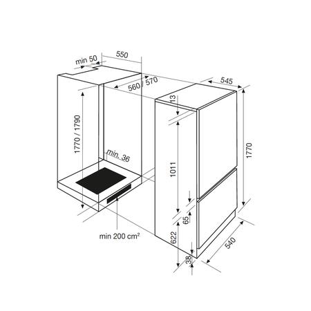 Dessin technique Intégrable - ARI300CA - Airlux