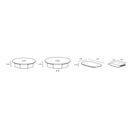 Dessin technique Noire - ATIN33BK - Airlux