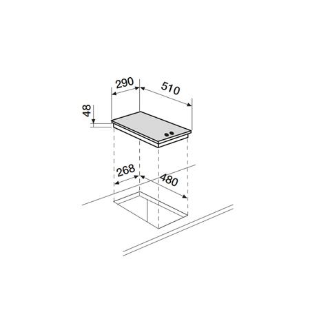 Dessin technique Verre noir - AV32HBK - Airlux